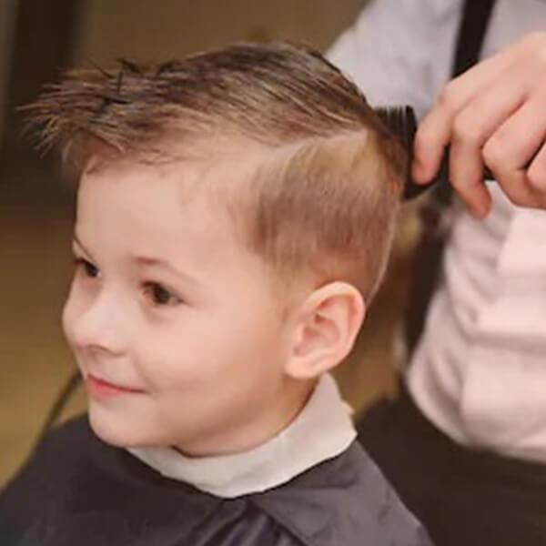 Male Hair Cut 0,12 years